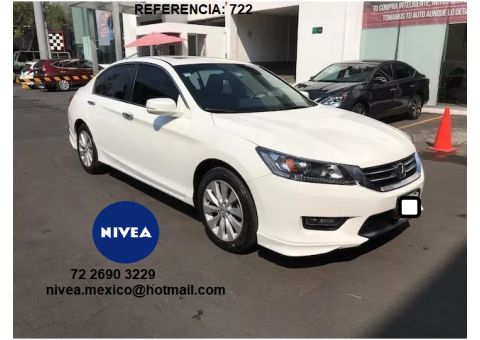 Corporativo nivea vende honda accord sedan