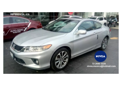 Corporativo nivea vende honda accord coupe 2pts