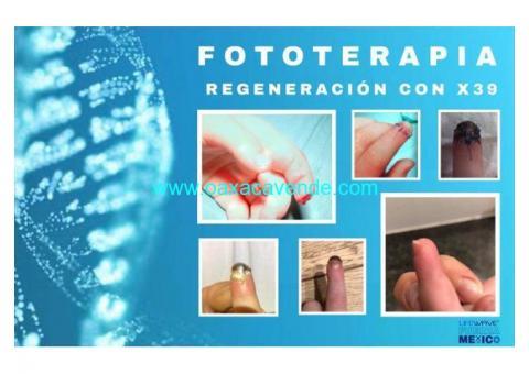Regeneracion celular por medio de fototerapia