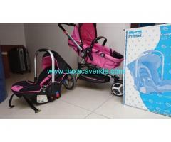 Carreola y asiento para Bebe Prinsel Caompass Elite