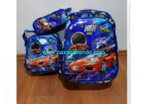 Hermosos kit de mochilas