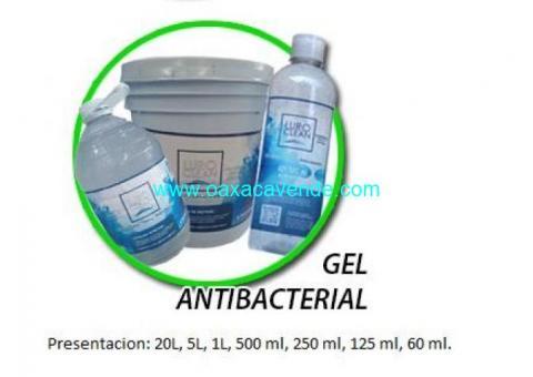 Gel antibacterial diferentes presentaciones