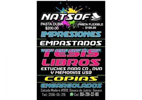 Natsof Tesis e impresiones
