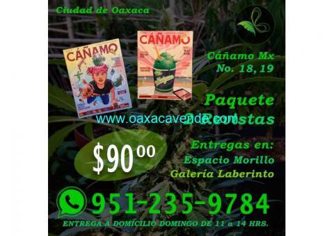 Paquete 2 revistas cáñamo mx
