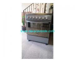 Vendo estufa mabe 6 quemadores y cristal