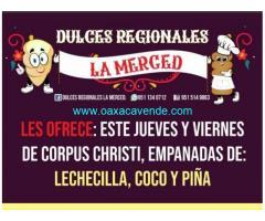 Empanadas de corpus Christi la Merced