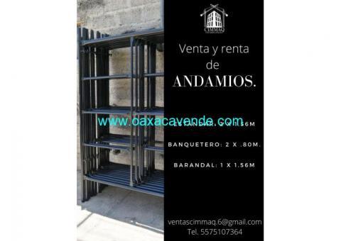 FABRICACIÓN DE ANDAMIO CIMMAQ
