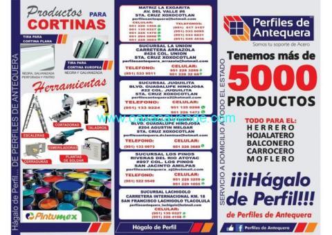 PRODUCTOS DE PERFILES