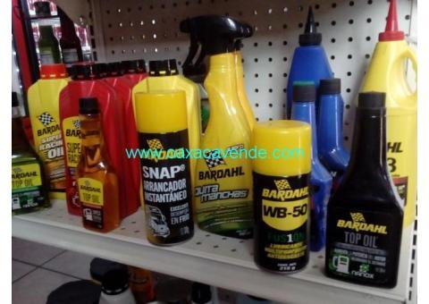 Se rematan aceites, lubricantes y productos para automóvil
