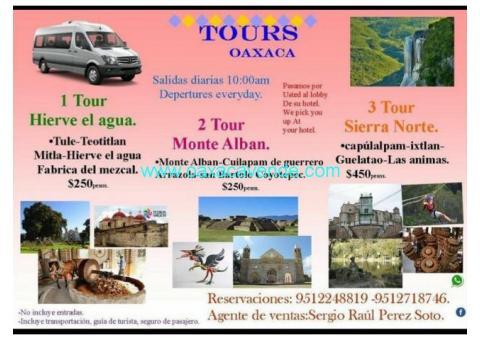 Tours oaxaca.