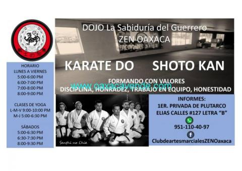 KARATE DO SHOTO KAN