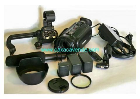 Videocámara Canon XA-10 + Micrófono Audio-Tecnica
