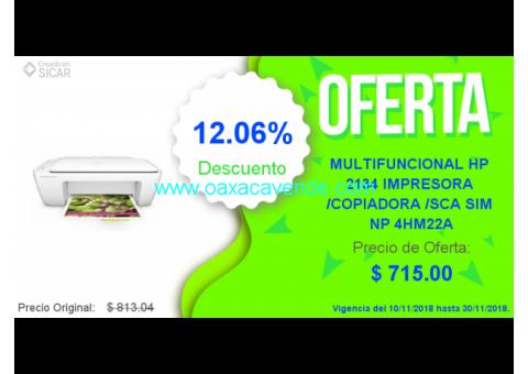 MULTIFUNCIONAL -  IMPRESORA -  COPIADORA Y ESCANNER