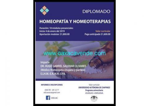 Diplomado en homeopatía