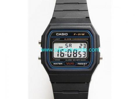 Reloj Casio F-91w Negro