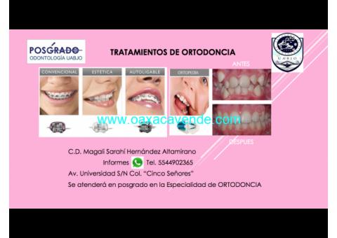 tratamientos de Ortodoncia.